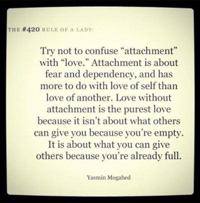 attachment-is-not-love